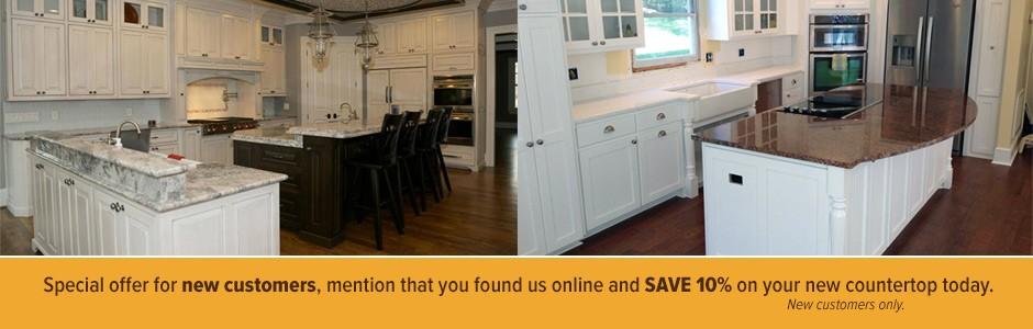 Kitchen And Bathroom Granite Countertops In Elberton, GA
