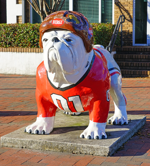 University of Georgia Bulldog Mascot