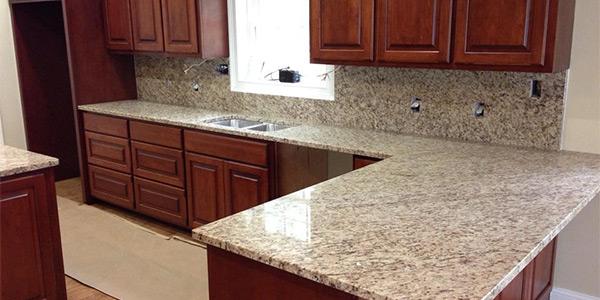 New Granite Countertops In Kitchen